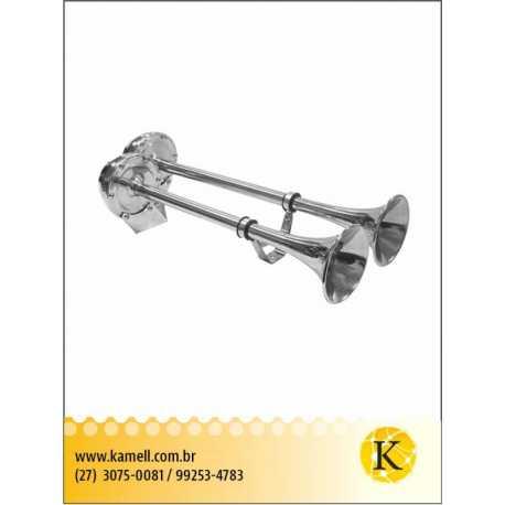 Buzina Tipo Trombeta Elétrica