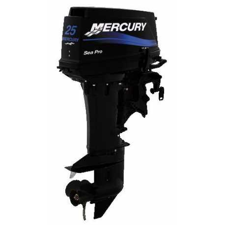 Motor Mercury 25 HP 2 Tempos SEA PRO