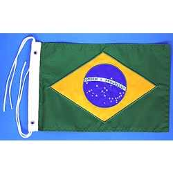 Bandeira do Brasil Bordada