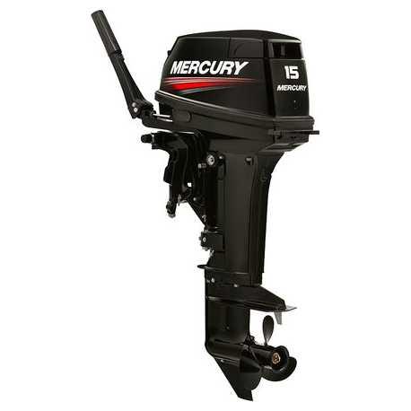 Motor Mercury 15 HP Super 2 Tempos